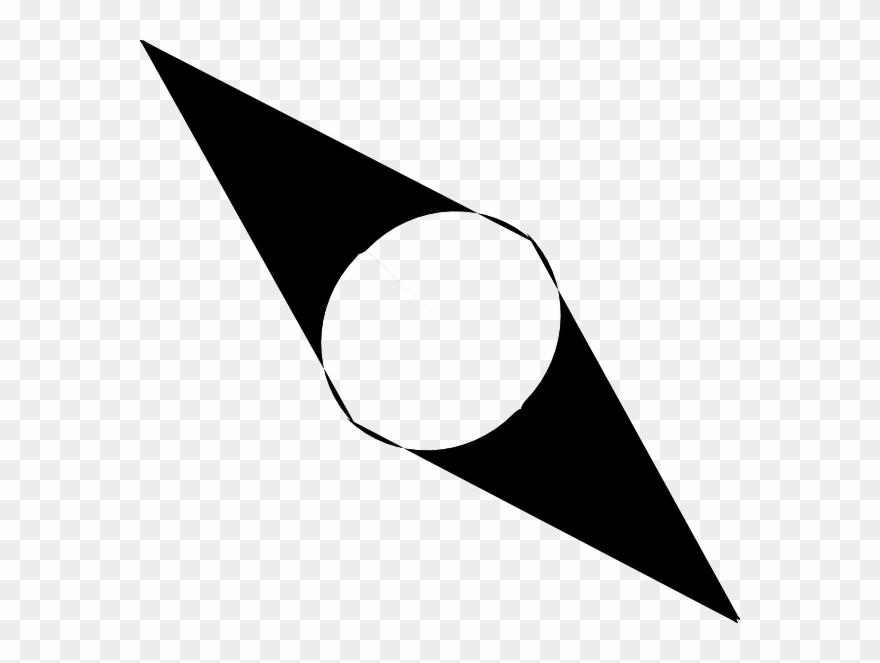 Clip art flecha de. Compass clipart compass needle