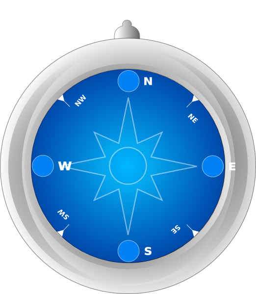 Compass clipart compass needle. With no clip art