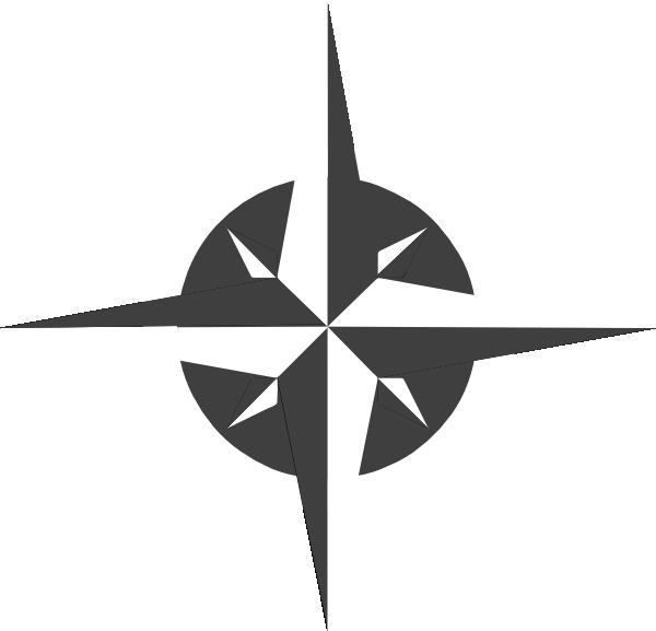 Compass clipart compass needle. White rose clip art