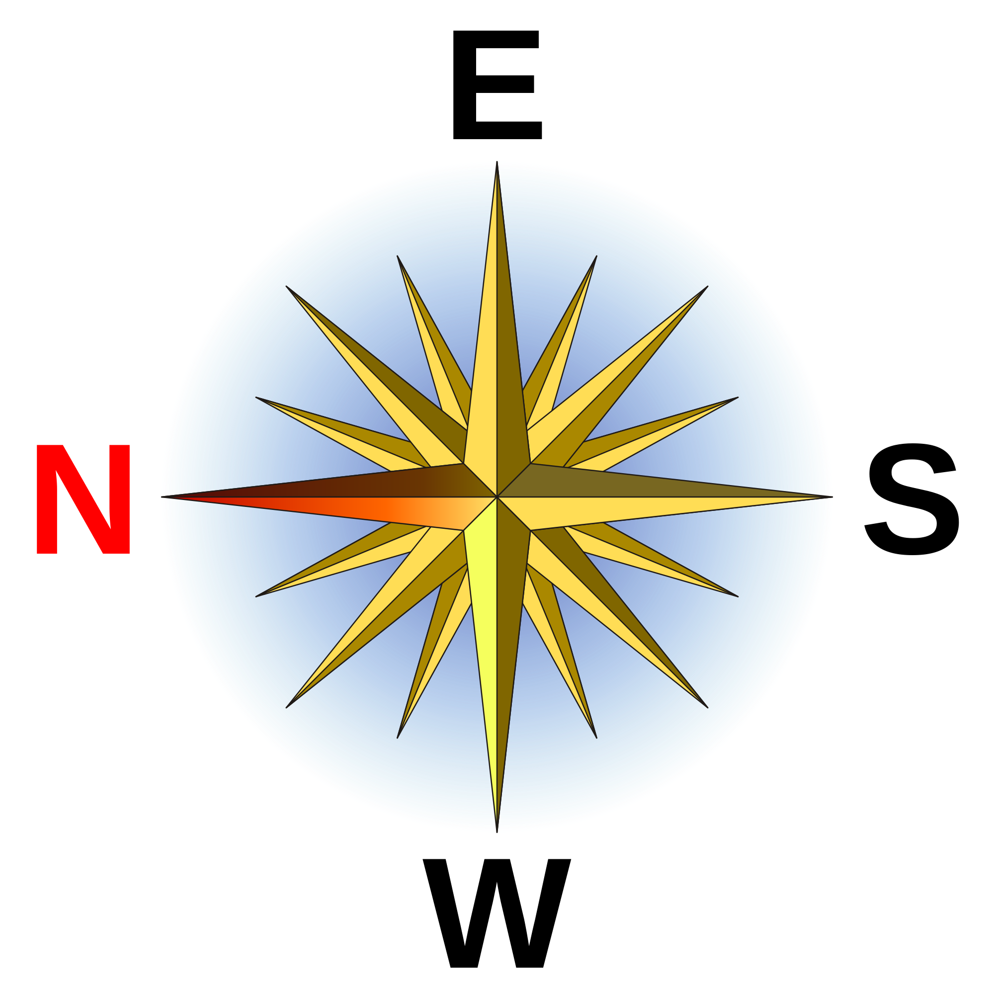 Collection of compass rose. E clipart small