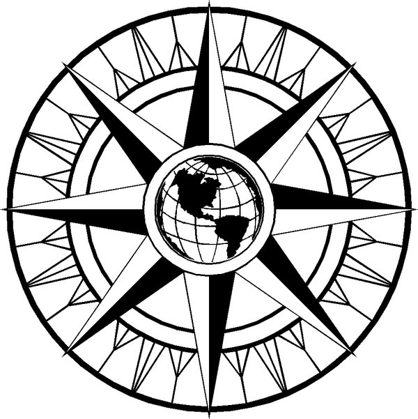 Compass clipart fancy. Free rose download clip