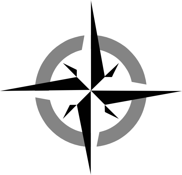 Compass rose clip art. Geography clipart compus