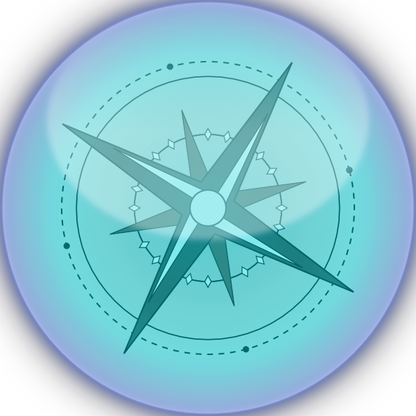 Compass clipart magnetic compass. Clip art at clker