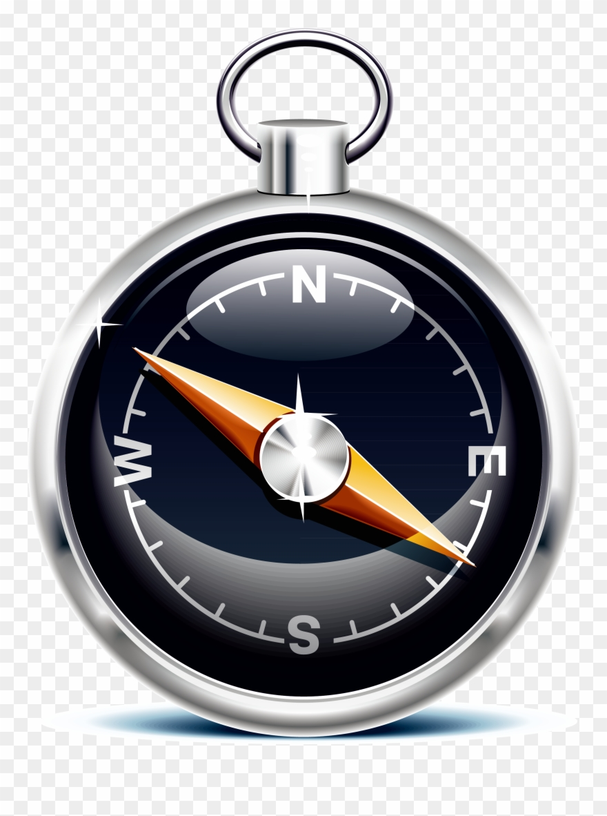 North art technology hand. Compass clipart magnetic compass