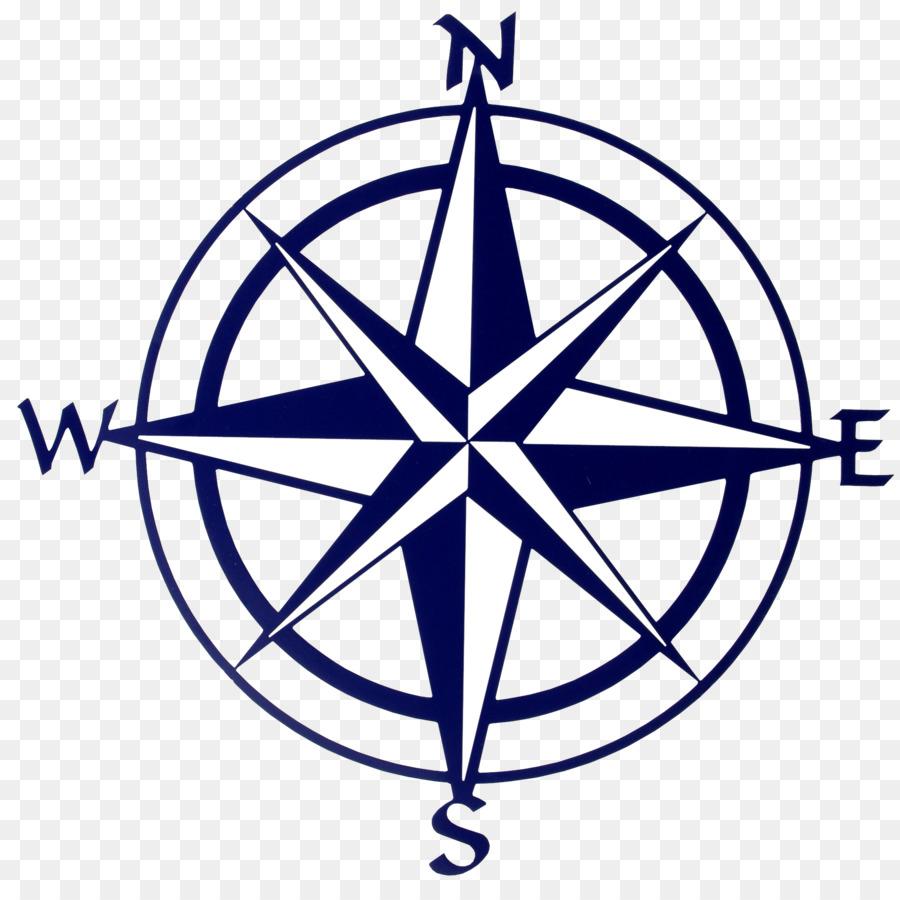 Compass clipart map. Line transparent clip art