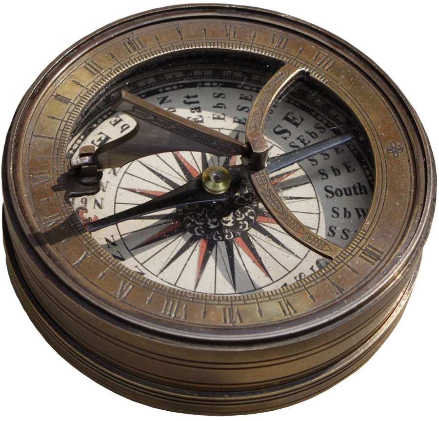 Ye olde stock by. Steampunk clipart old compass