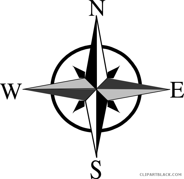 compass clipart movement geography