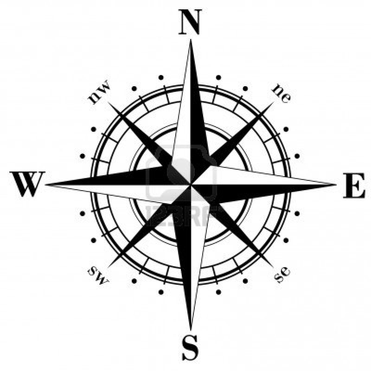 Free simple download clip. Compass clipart pdf