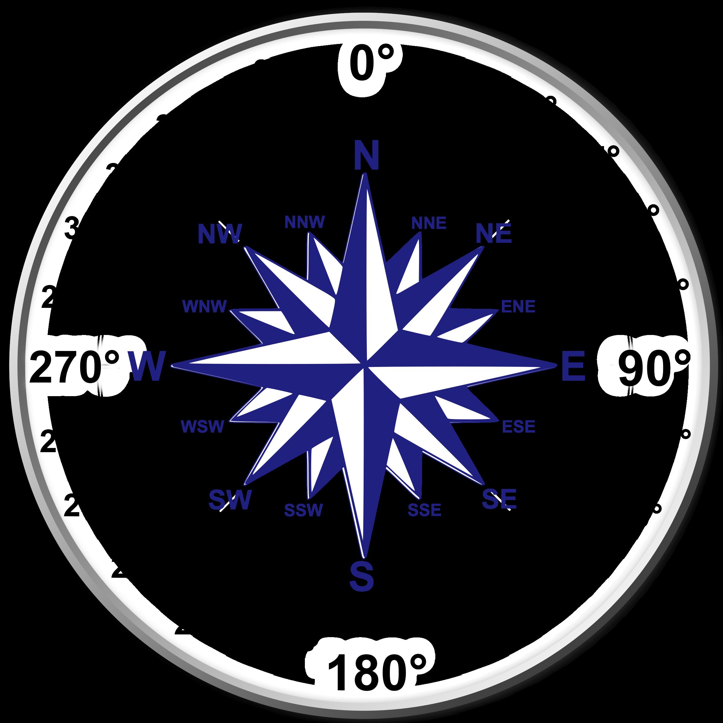 Compass clipart pdf. Dual rose big image