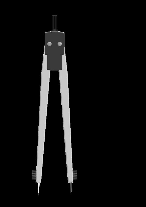 Pencil clipart compass. Drawing medium image png