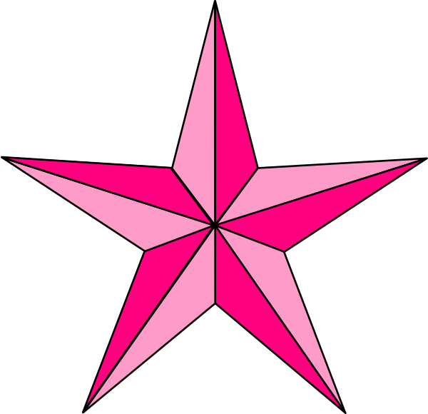 compass clipart pink