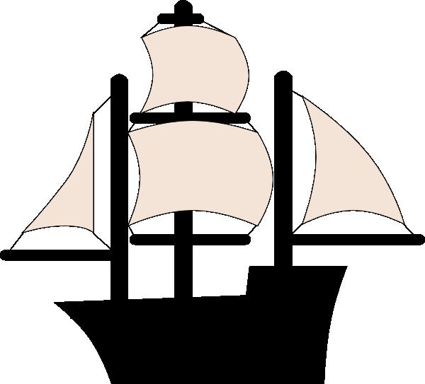 Black pirate clip art. Compass clipart ship