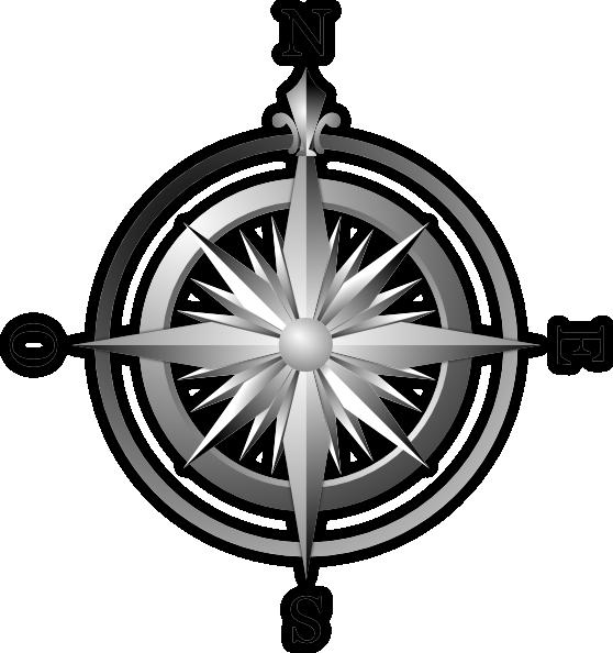 Compass clipart south. Clip art at clker