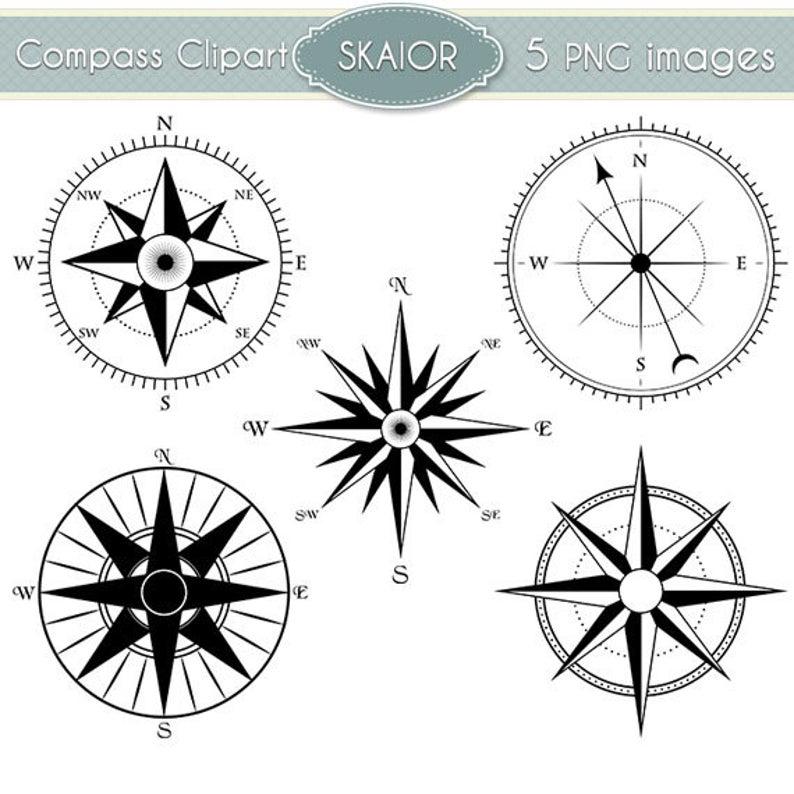 Compass clipart steampunk compass. Vector clip art nautical