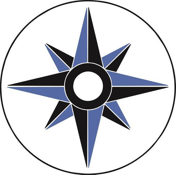 Symbol ai svg dxf. Compass clipart vector