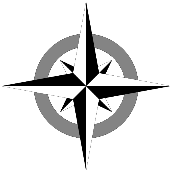 Image of Compass Clipart