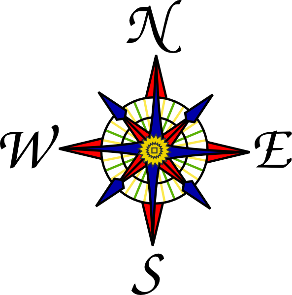 Picture for the rose. Compass clipart word
