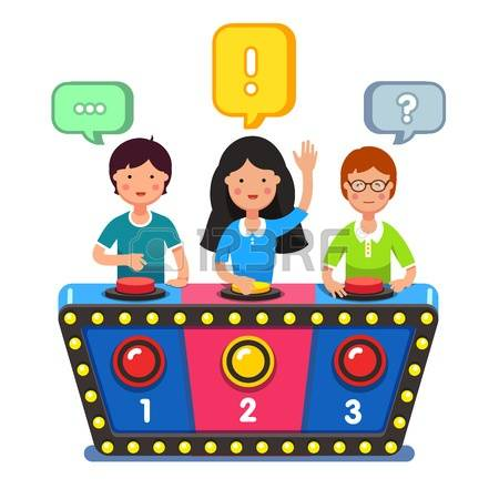 collection of quiz. Competition clipart