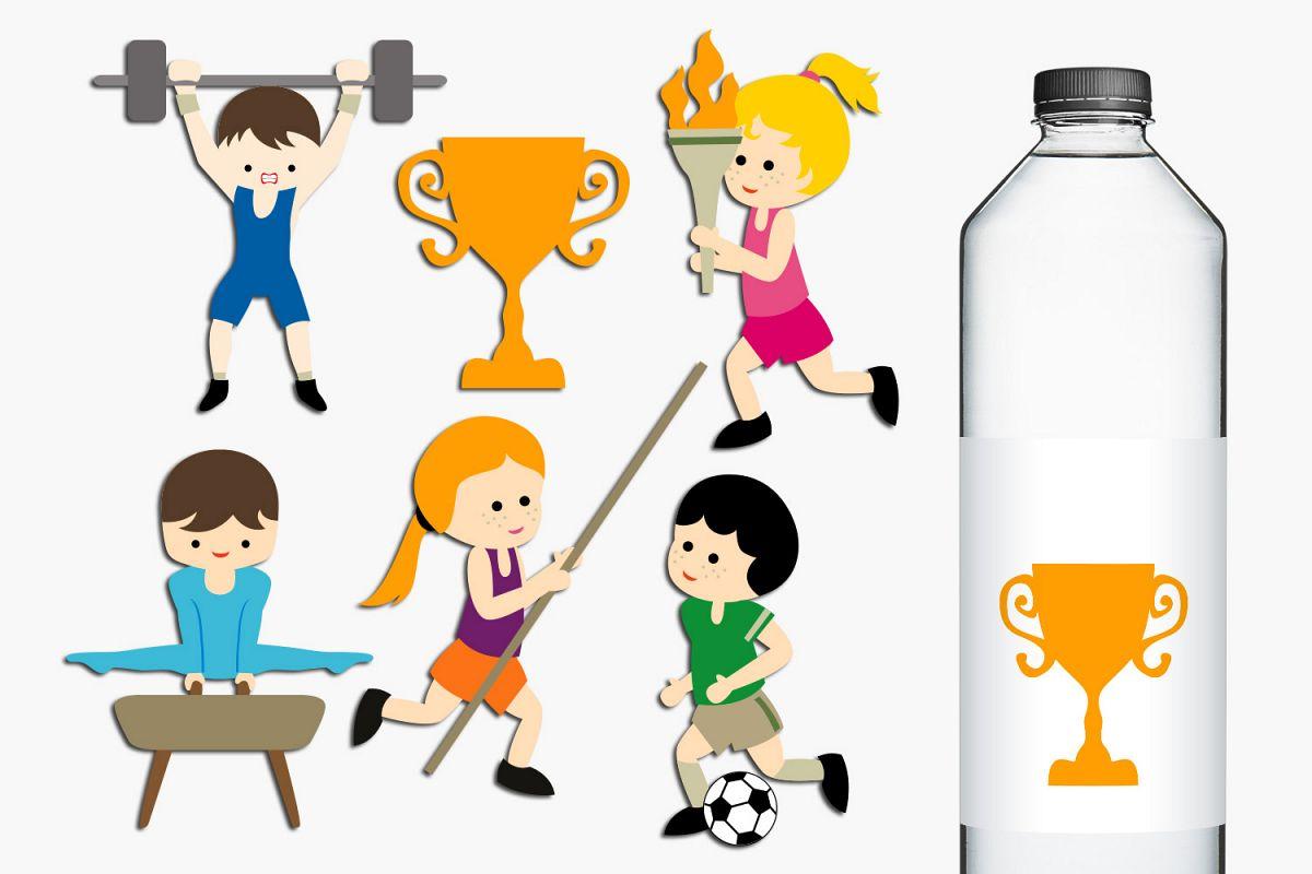 Summer sport clip art. Competition clipart academic