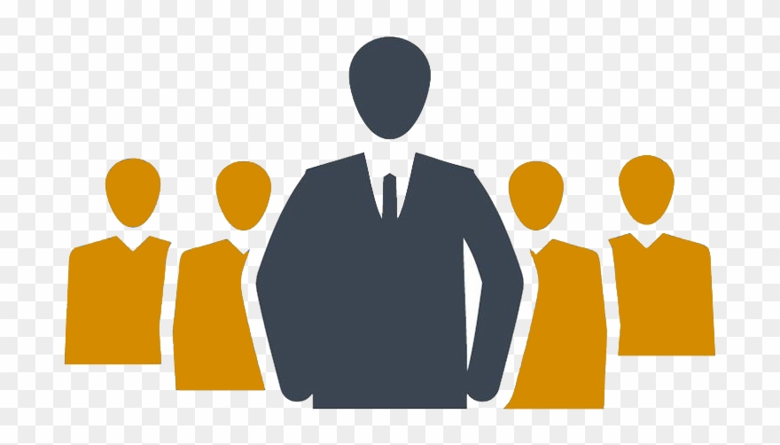 Business competition icon . Leader clipart senior management
