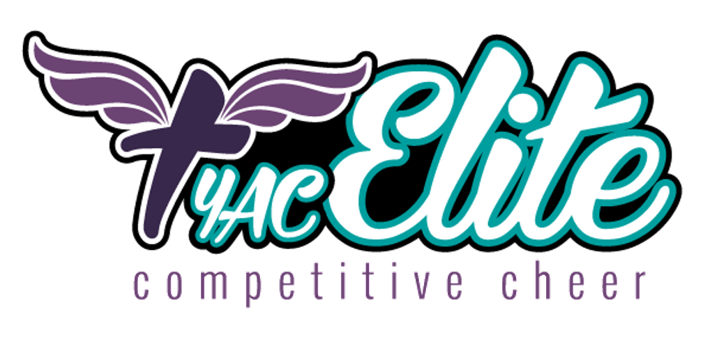 Competition clipart cheered. Yac elite competitive cheer