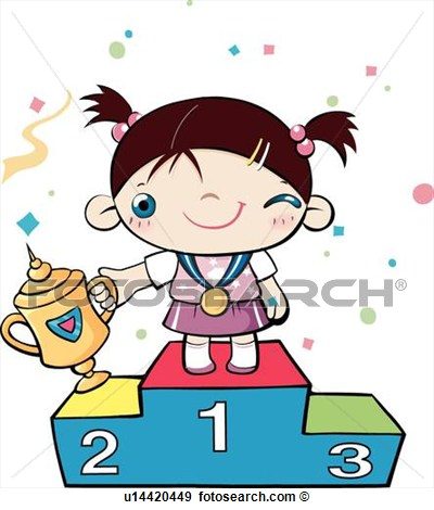 Competition clipart competition winner. Stock illustration contest panda