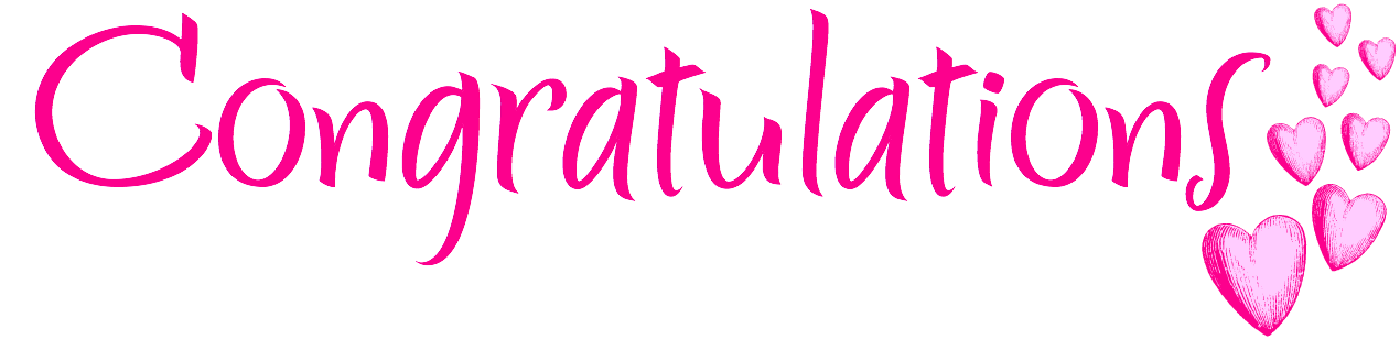 Congratulations clipart many. Transparent png pictures free