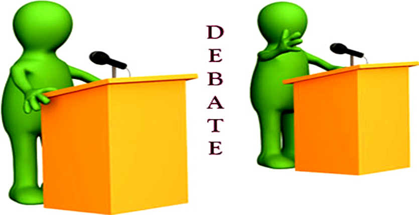 Competition clipart debate. Station