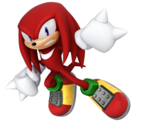 Knuckles rocks the in. Competition clipart defeated