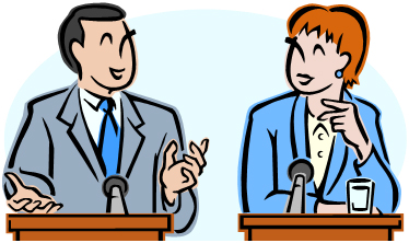 Collection of free download. Debate clipart political man