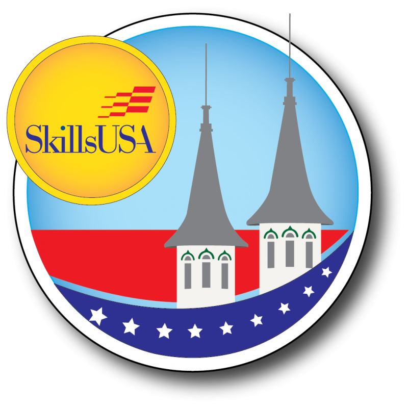 National leadership and skills. Georgia clipart sticker