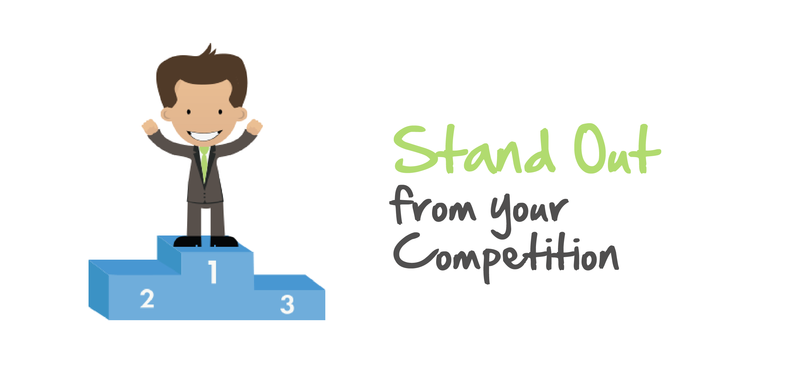 Competition clipart group. Make your business stand