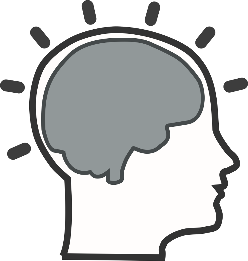 Picture clipart head.  collection of brain