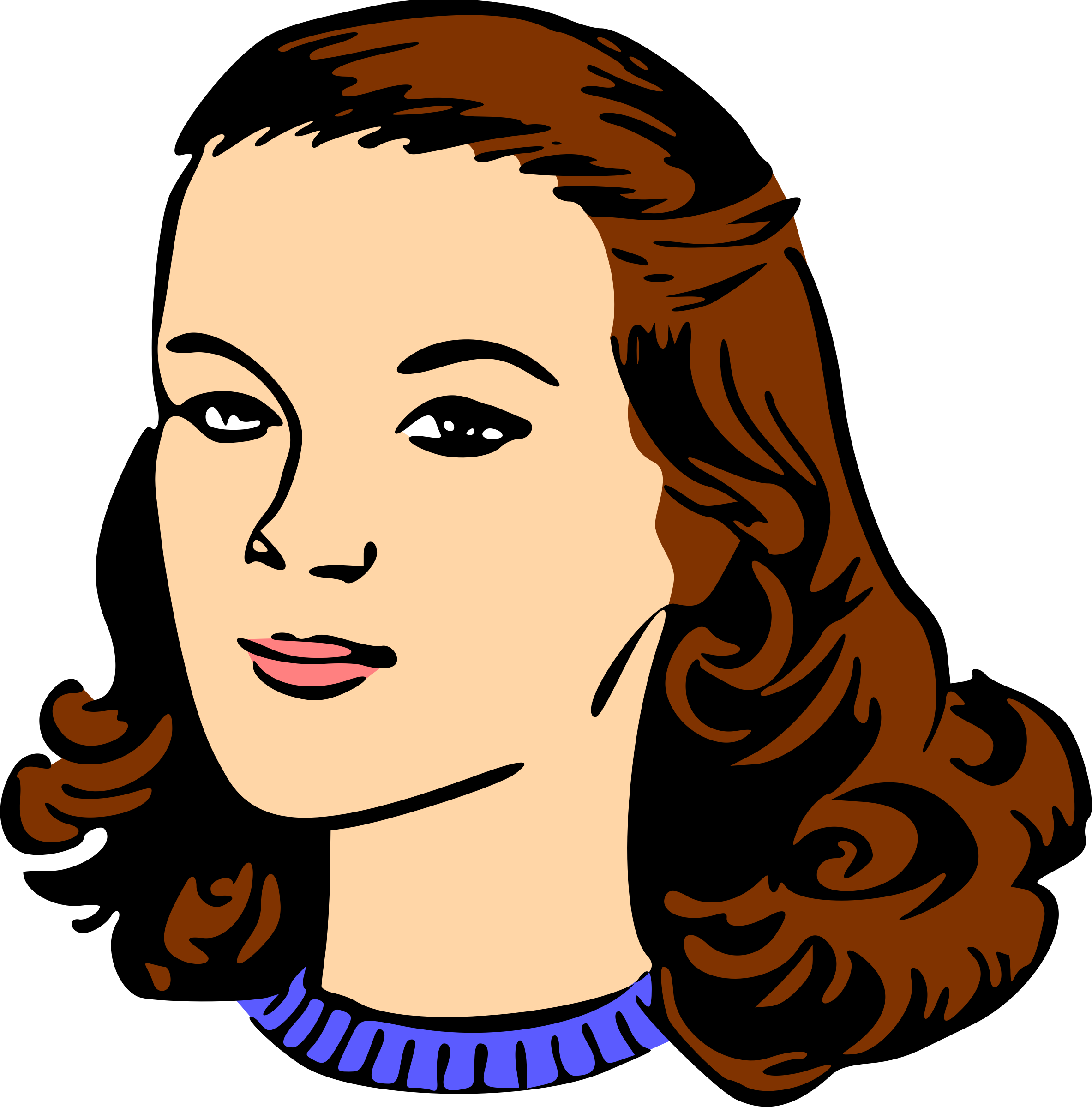 collection of woman. Competition clipart head to head