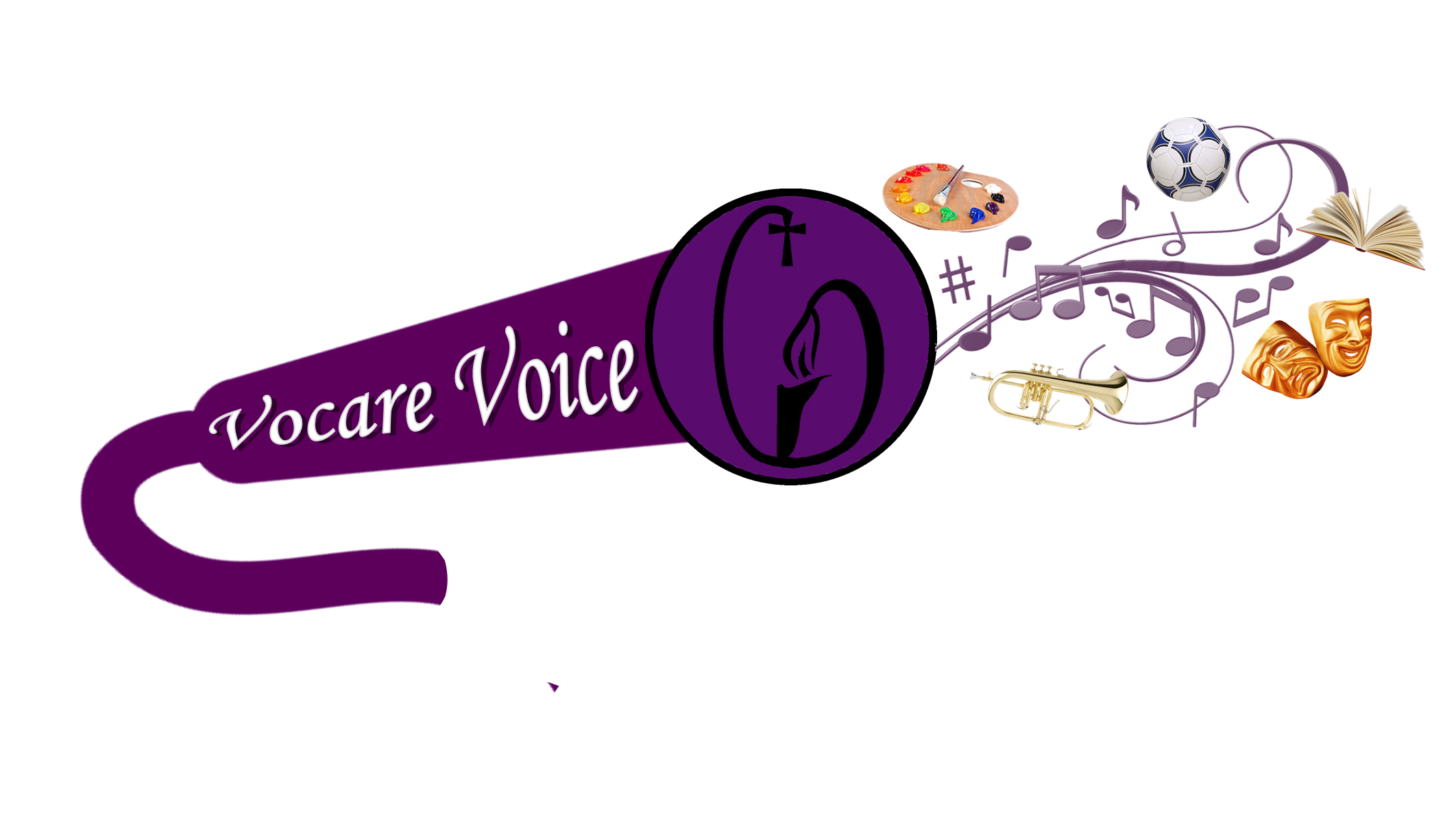 Vocare voice logo png. Competition clipart inter house