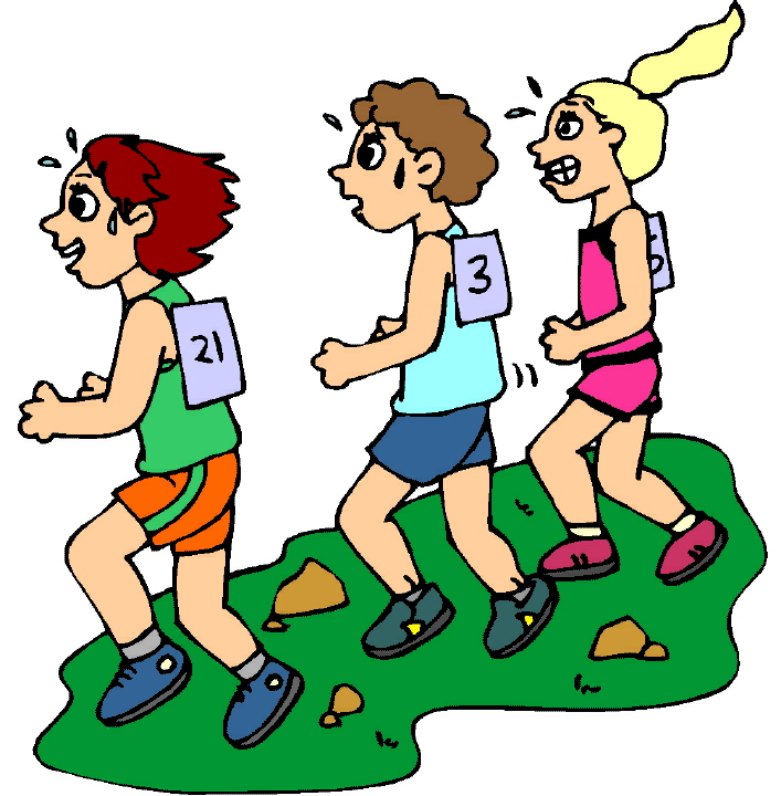 Race clipart cross country. Free children running download