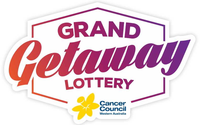 Grand getaway cancer council. Raffle clipart lottery ticket