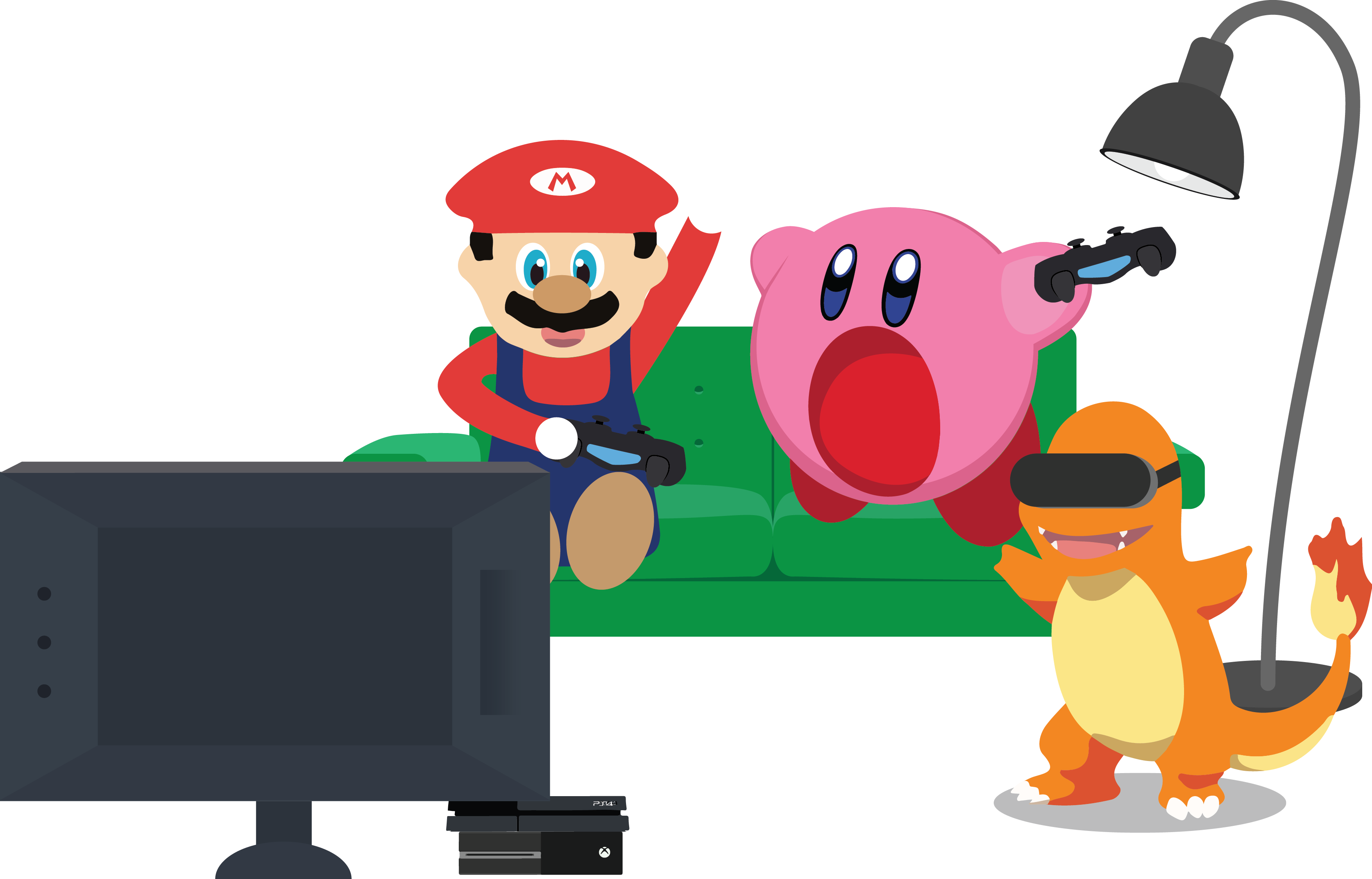 Proud clipart big business. Nintendo time to switch