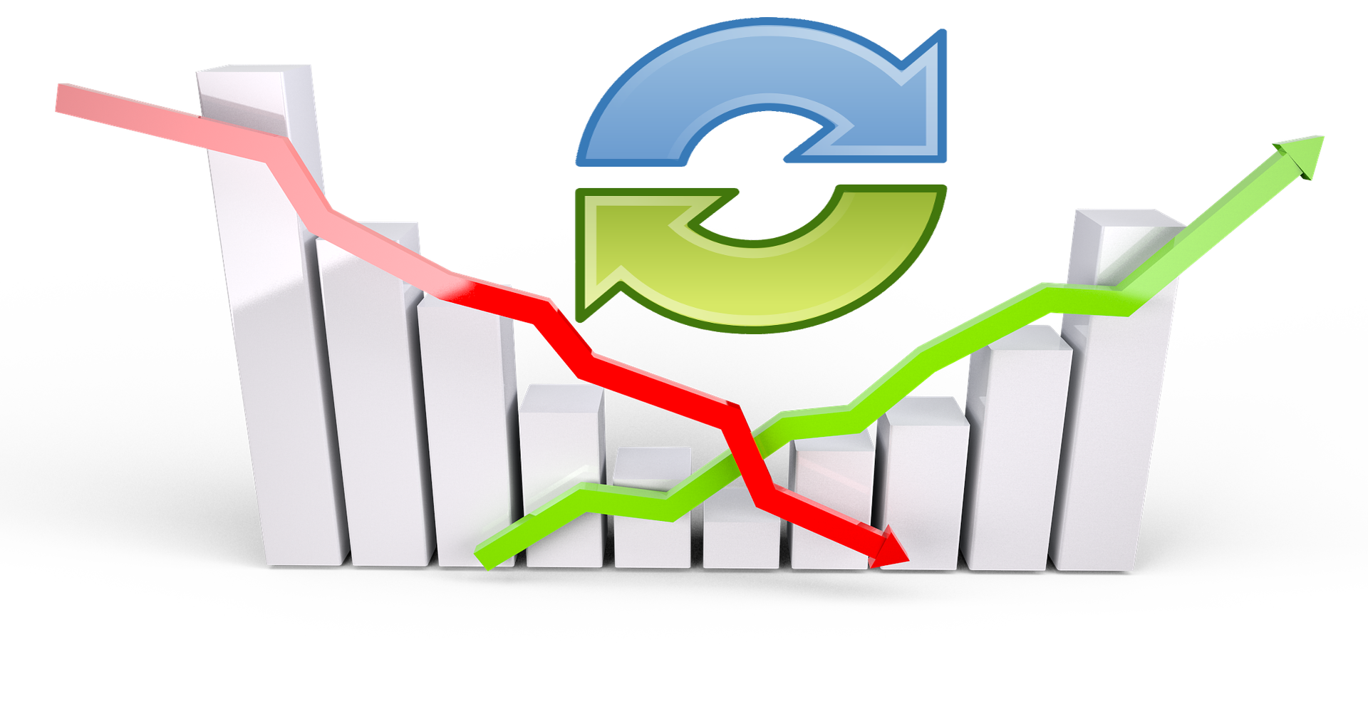 Graph clipart upward. The great crash of