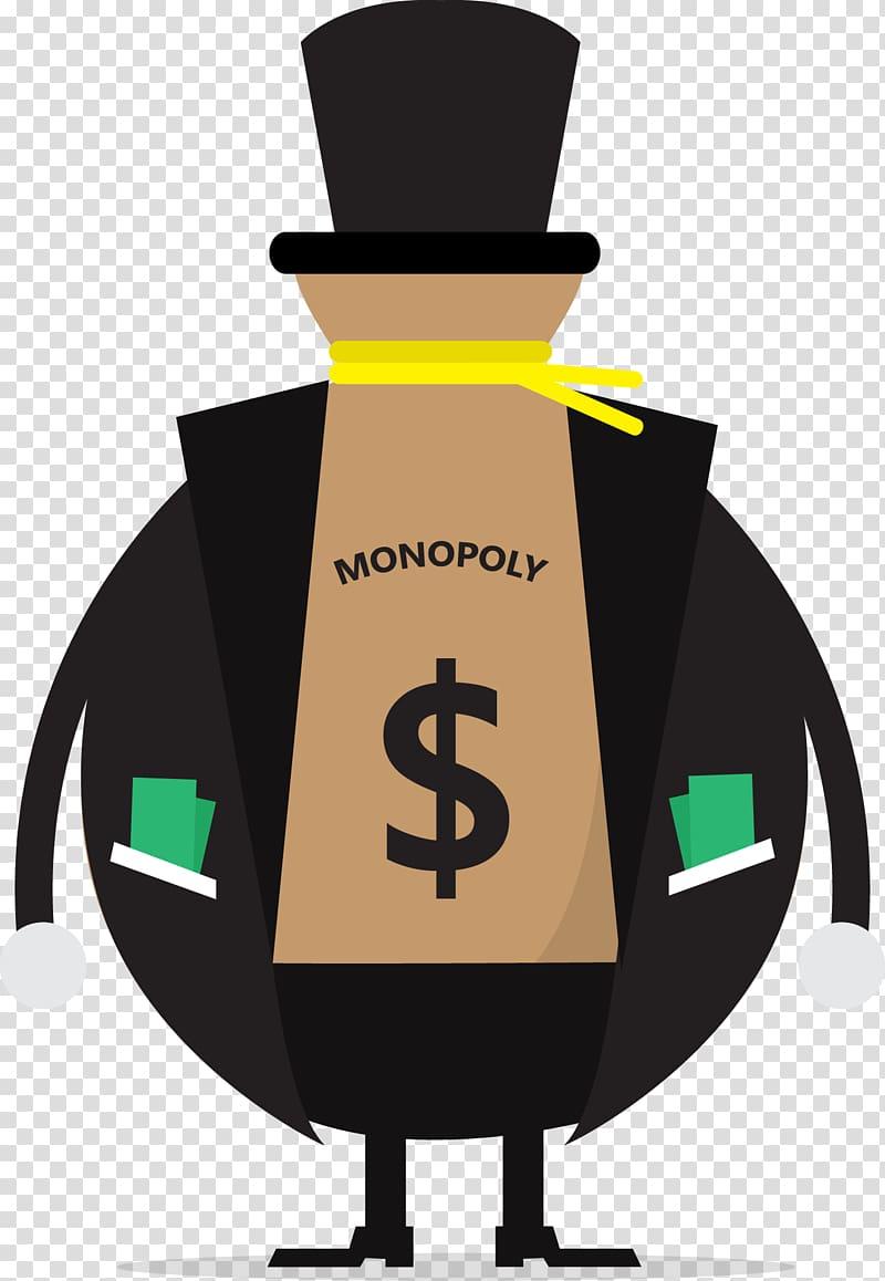 Zero to one monopoly. Economics clipart cost