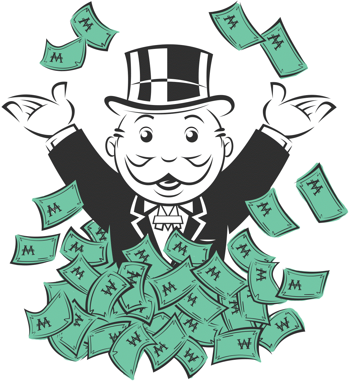 Competition clipart oligopoly.  collection of monopoly