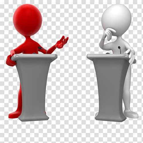 Public speaking others transparent. Debate clipart political situation