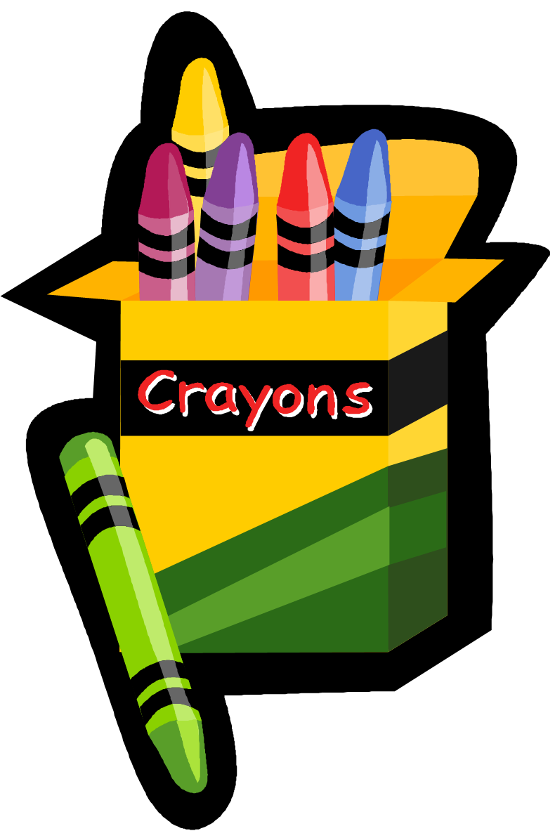 Crayons coloring contest