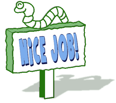 Nice clipart won. Free great job images