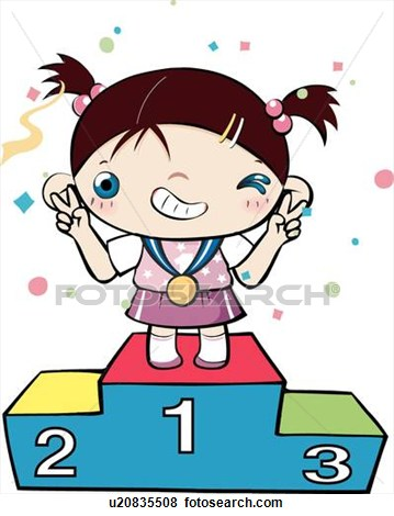 Competition clipart won. Contest clip art look