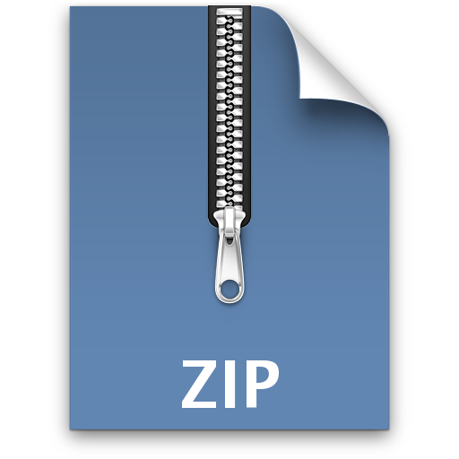 How to zip a. Compress files png