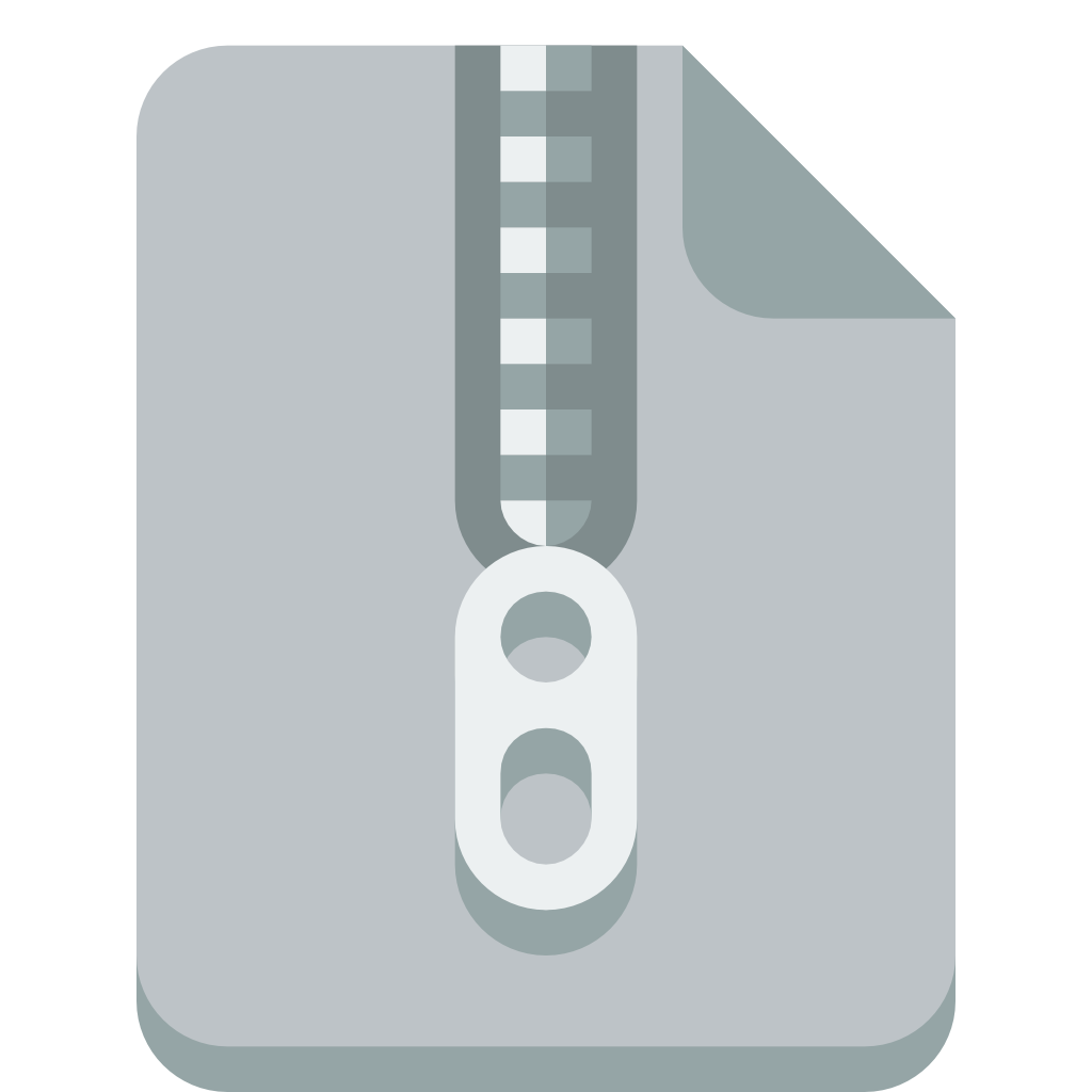 Compress files png. File zip icon small