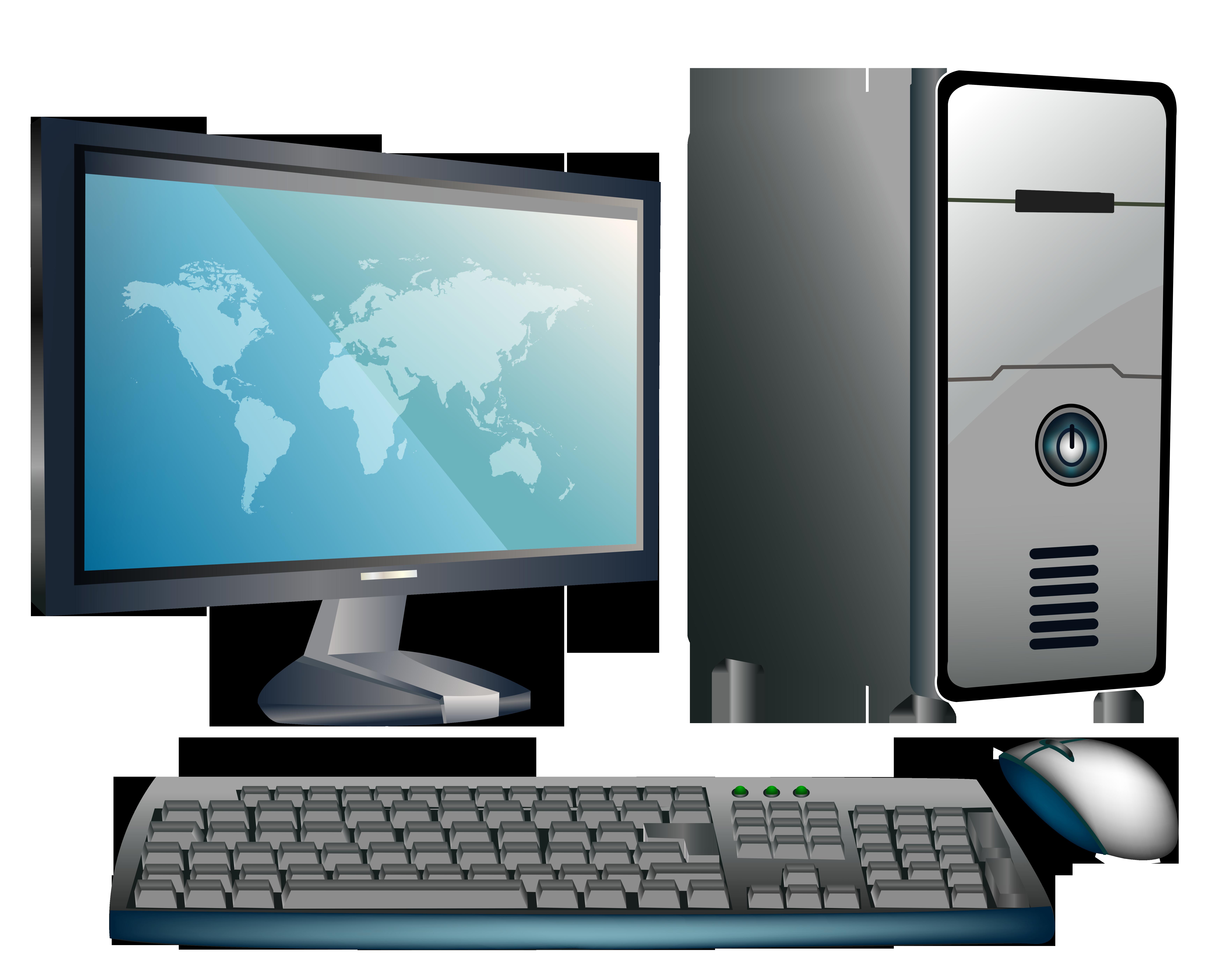 Technology clipart wallpaper. Desktop computer png best