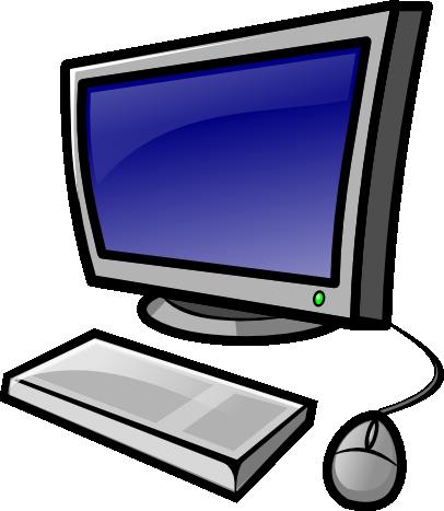 Computer clip art. Public clipart