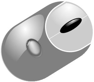 Mouse at clker com. Computer clip art computer component